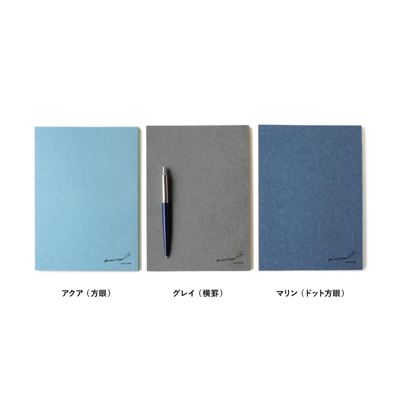 【ネコポス対応】美篶堂 Notebook A5サイズ【ANGERS Original】