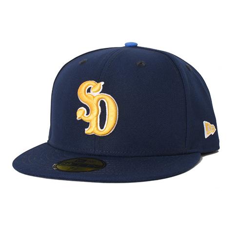 STANDARD CALIFORNIA #NEW ERA × SD 59Fifty Logo Cap Navy