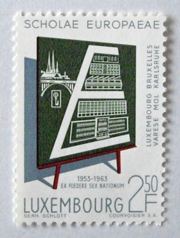 ヨーロピアンスクール / ルクセンブルグ 1963