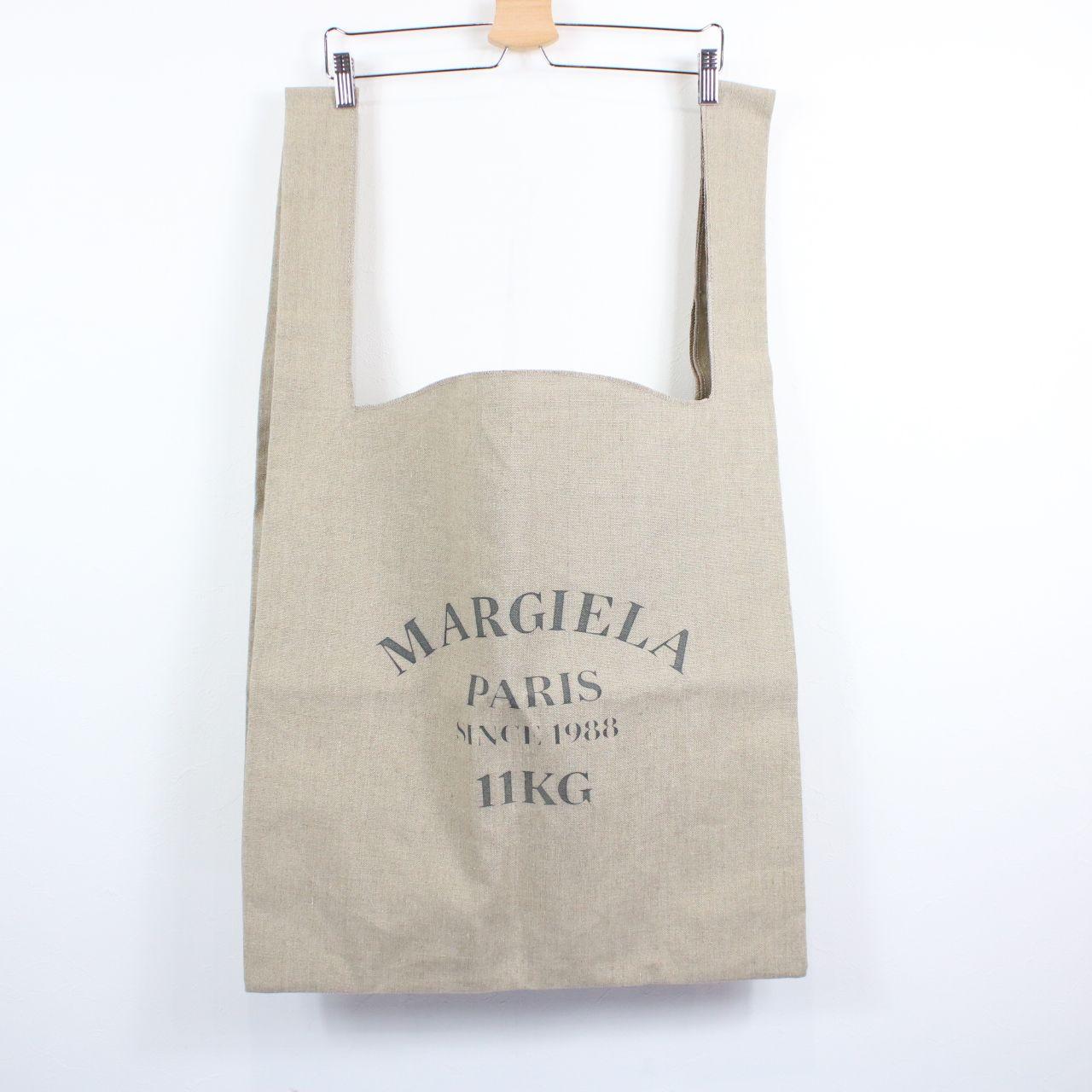 Maison Margiela / メゾンマルジェラ   2020SSモデル   11KGtotebagリネントートバッグ   ベージュ