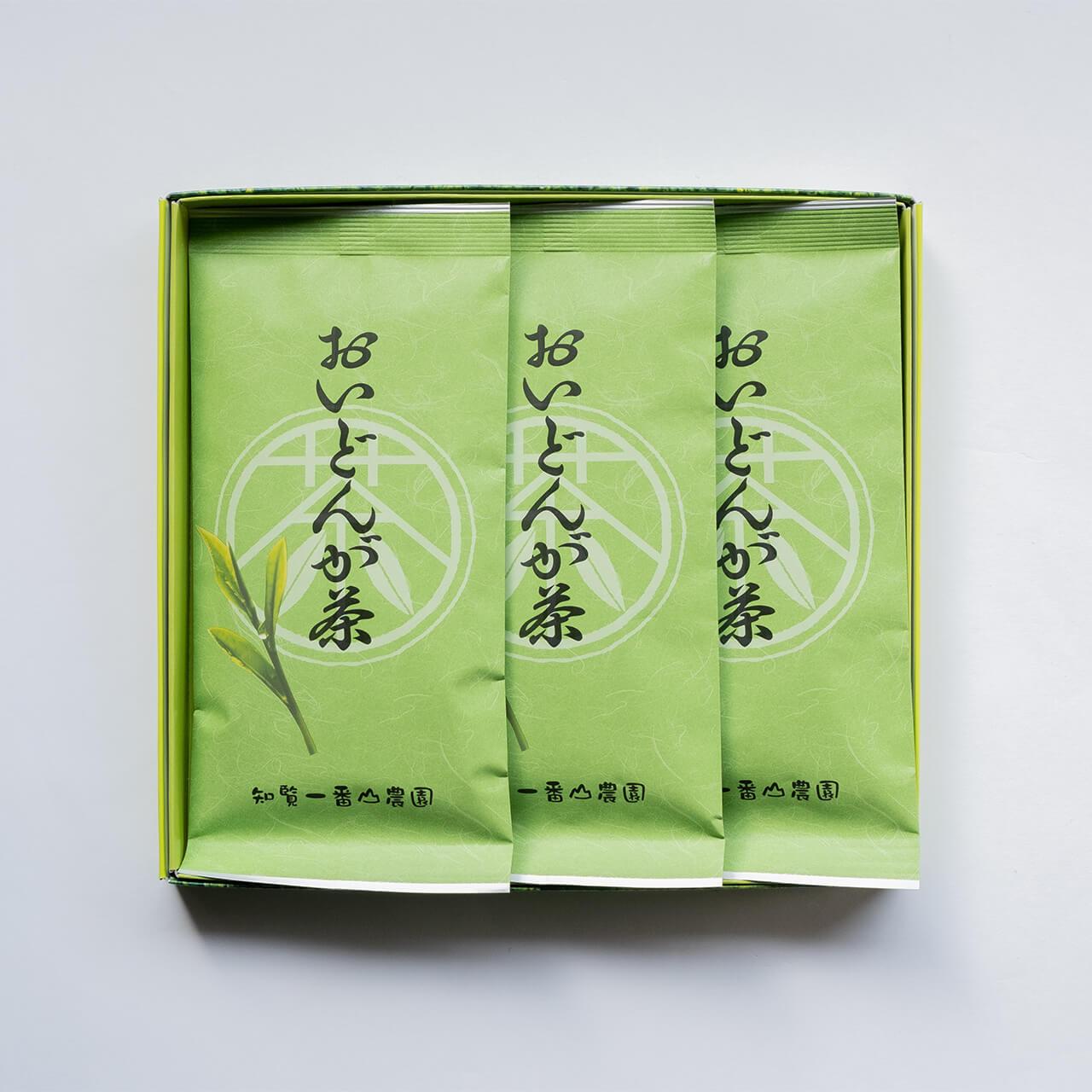 おいどんが茶【平箱入り・100g×3本】