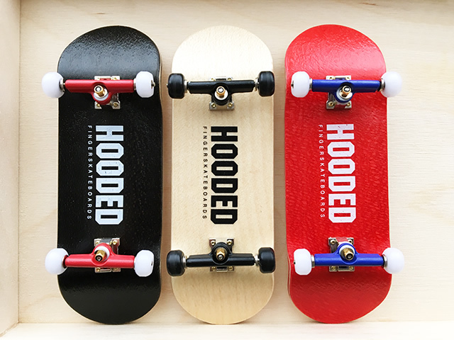 HOODED FINGERBOARD 新Hooded 33mm StartUp! COMPLETE