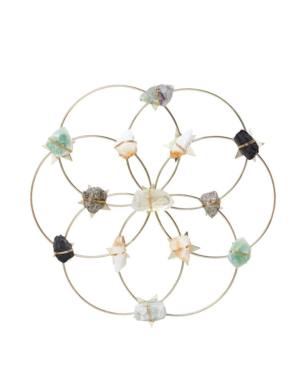 Crystal Grid - Healing Crystal Wall Decor - Flower Of Life - Large クリスタルグリッド フラワーオブライフ