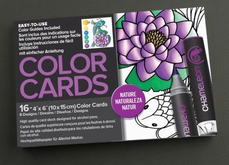 Chameleon Pen Nature Color Cards (カメレオンペン ネイチャー カラーカード)