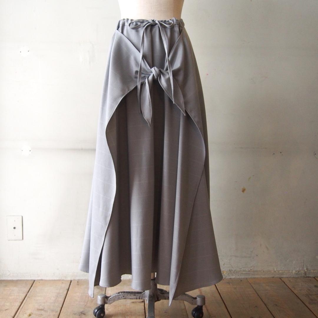 【sandglass】suit wrap skirt&one-piece/【サンドグラス】スーツ ラップスカート&ワンピース