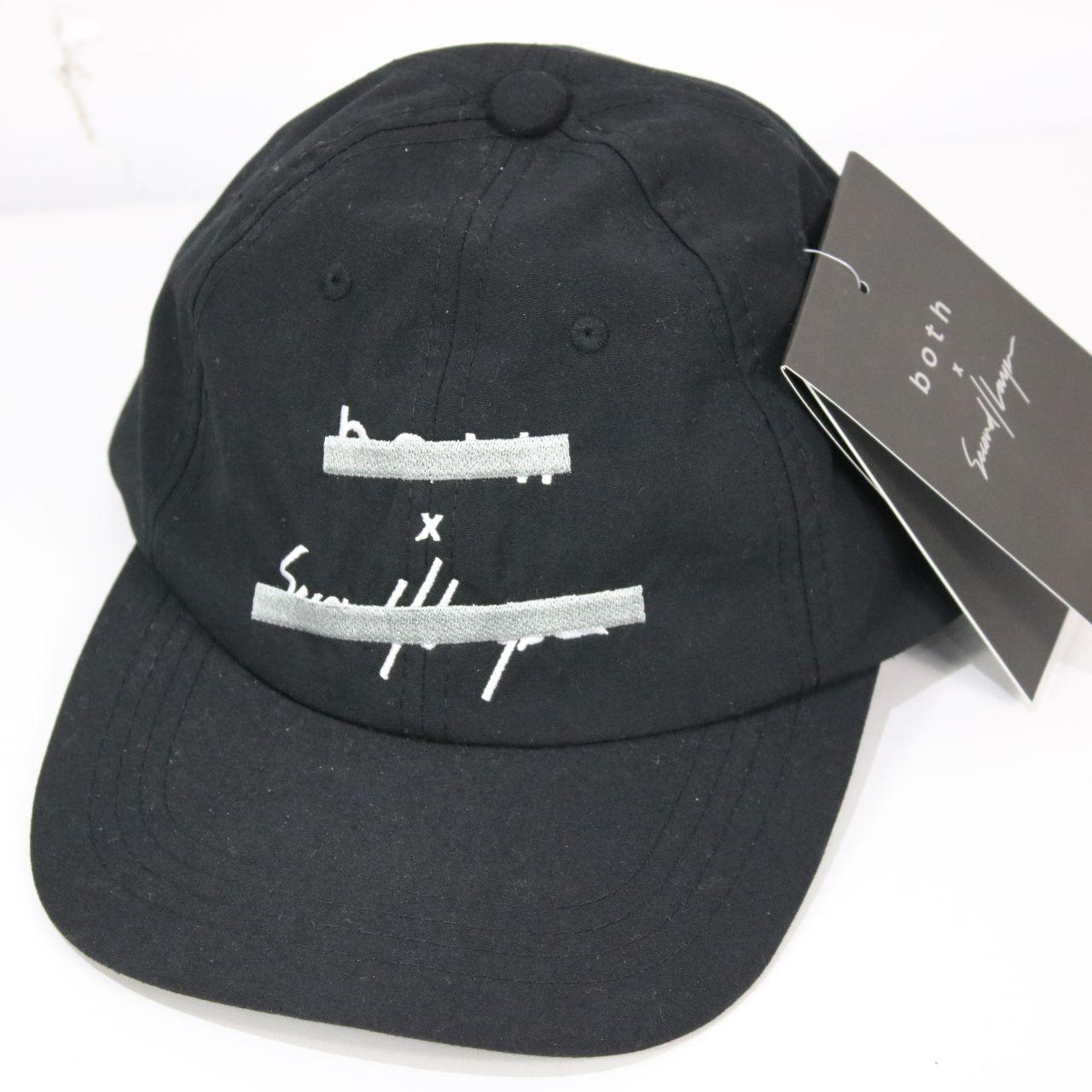 【新品】Second Layer / セカンドレイヤー   BOTHコラボ LOGO CAP ロゴ刺繍キャップ   F   ブラック