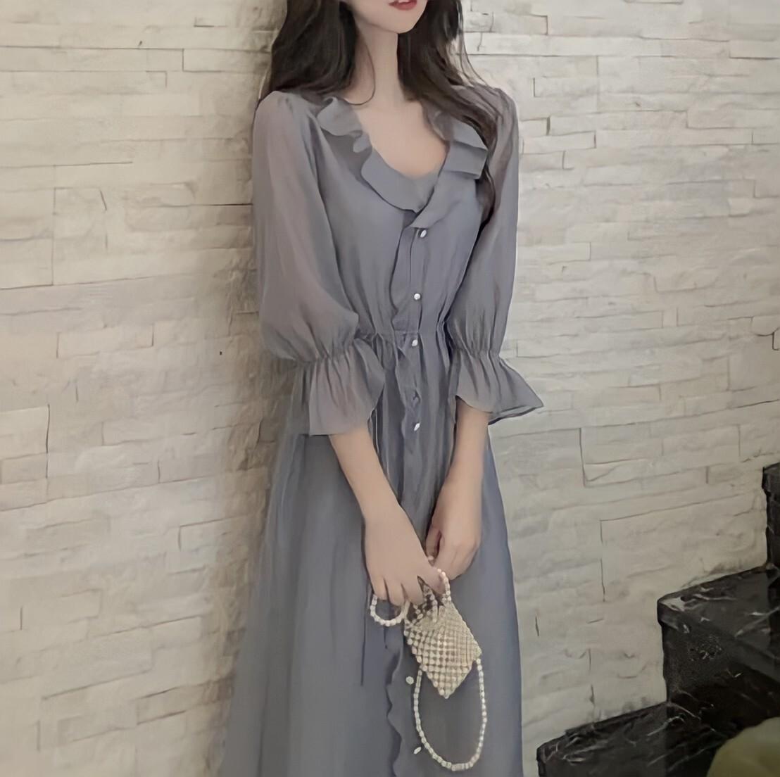 muse dress 2color