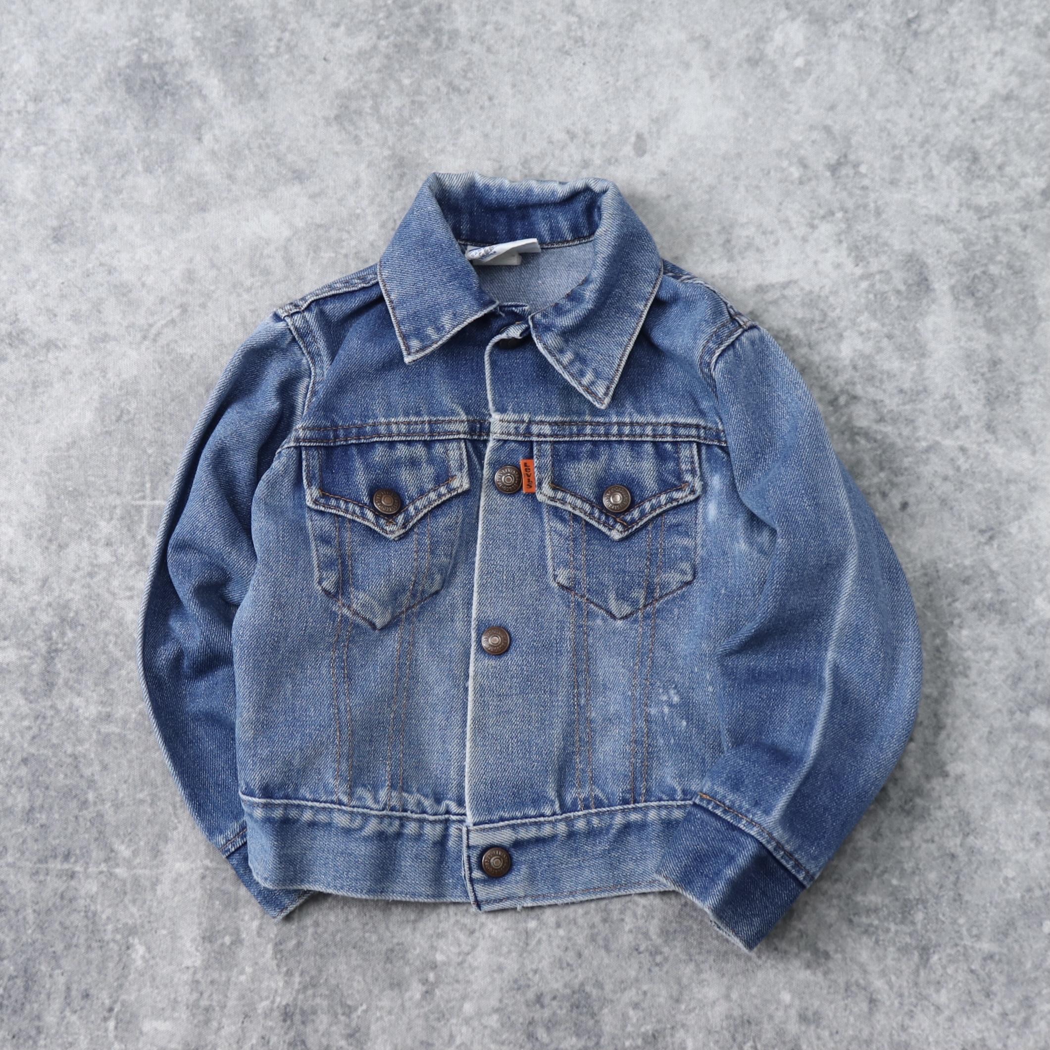 【KIDS】1970s  Vintage  Levi's  Denim  Jacket   A964