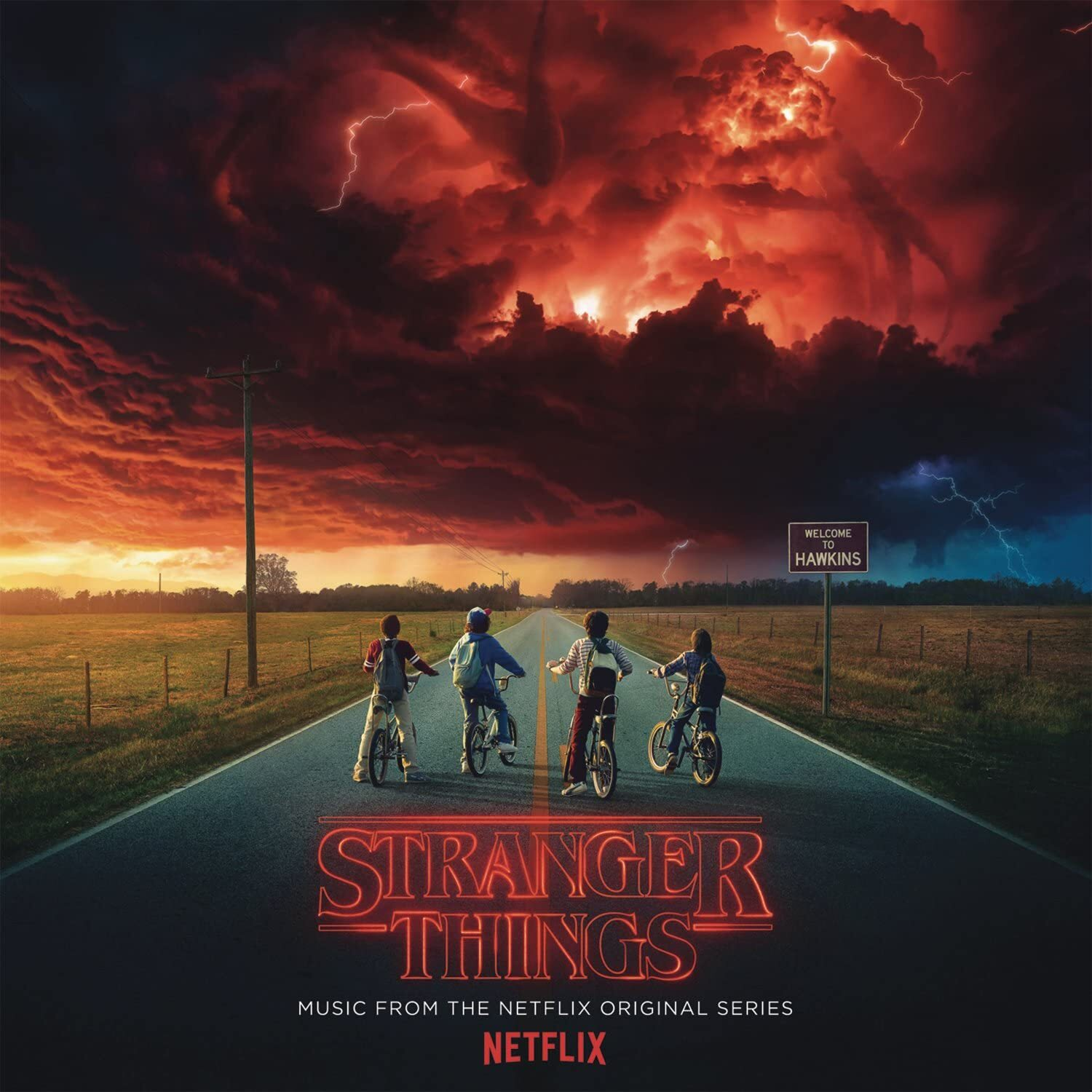 V.A. - STRANGER THINGS: MUSIC FROM THE NETFLIX ORIGINAL SERIES (2LP+Poster+Sticker)