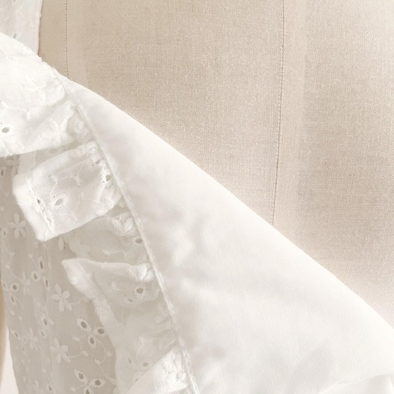 【meltie】original ribbon bustier one-piece(cotton lace)