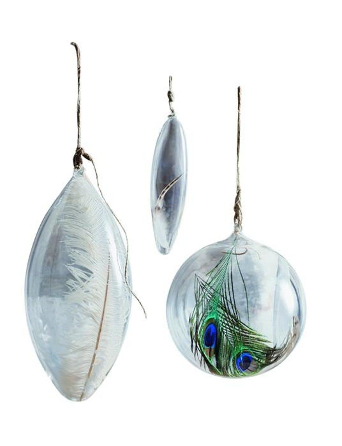 Roostルースト Floating Feather Ornaments Jumbo フェザーオーナメント大 3個セット