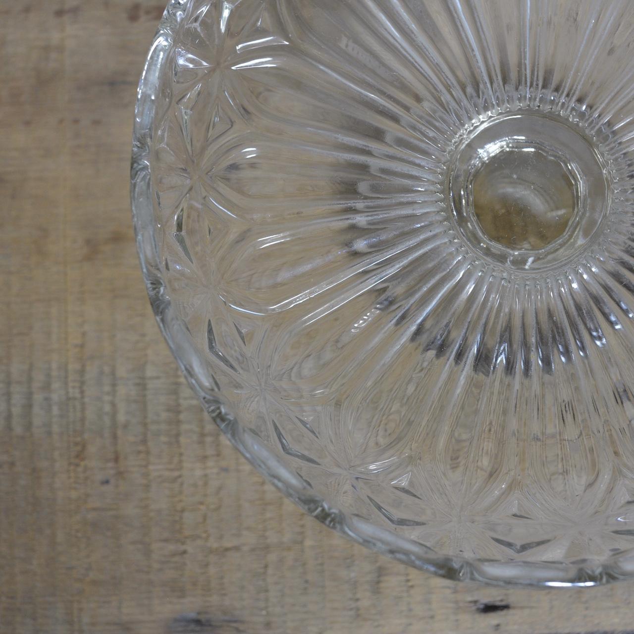 Compote  / コンポート【D】〈ケーキスタンド・食器・プレスガラス〉112141