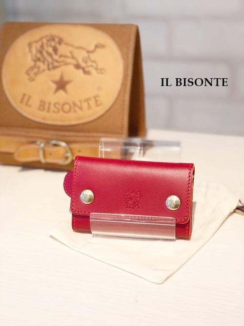 IL BISONTE(イルビゾンテ)/6連キーケース/9290(レッド)