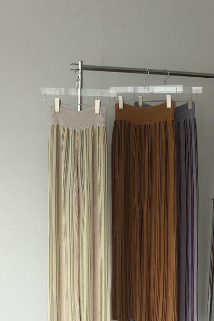 TODAYFUL/トゥデイフル  Stripe Knit Leggings 12110706