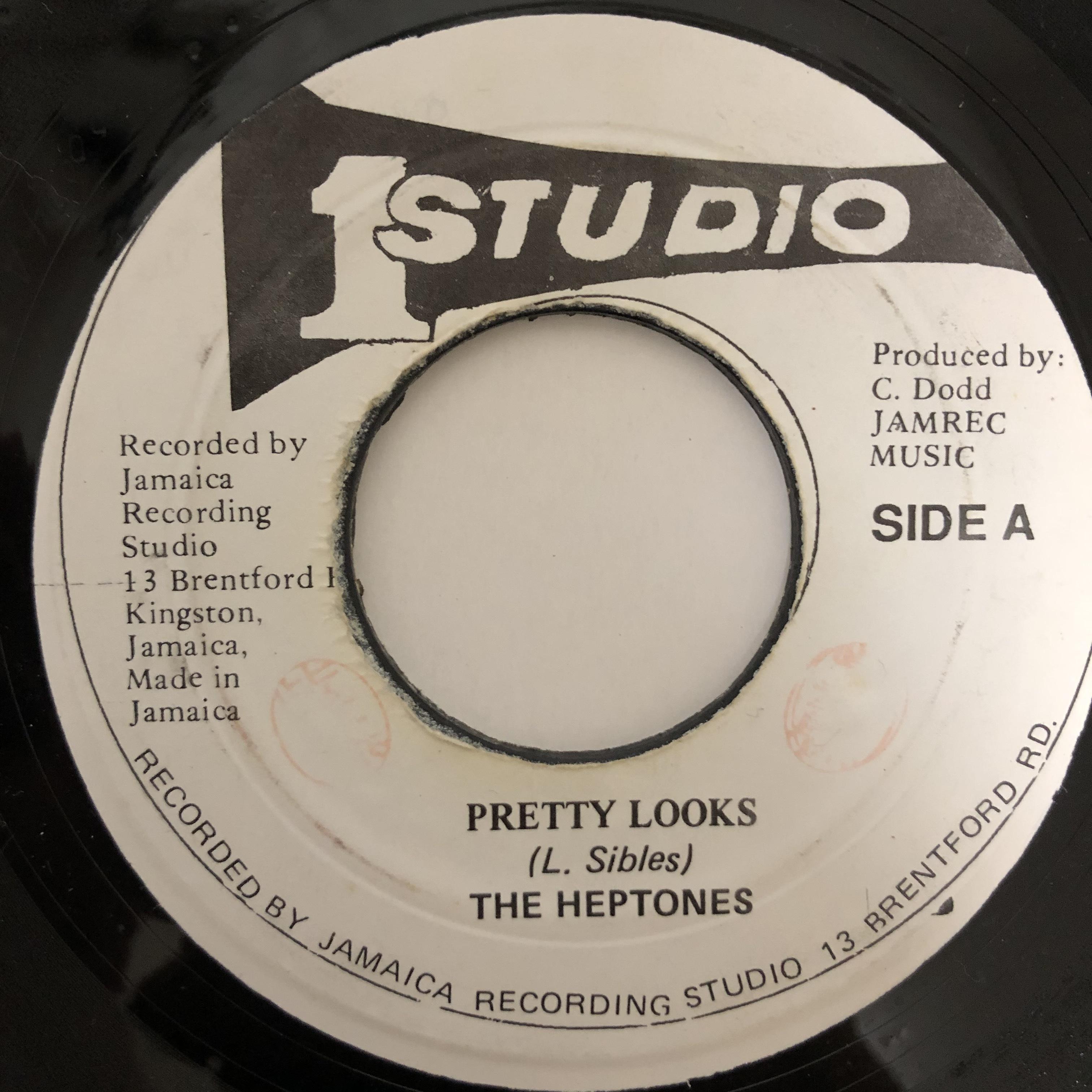 Heptones - Pretty Looks【7-20427】
