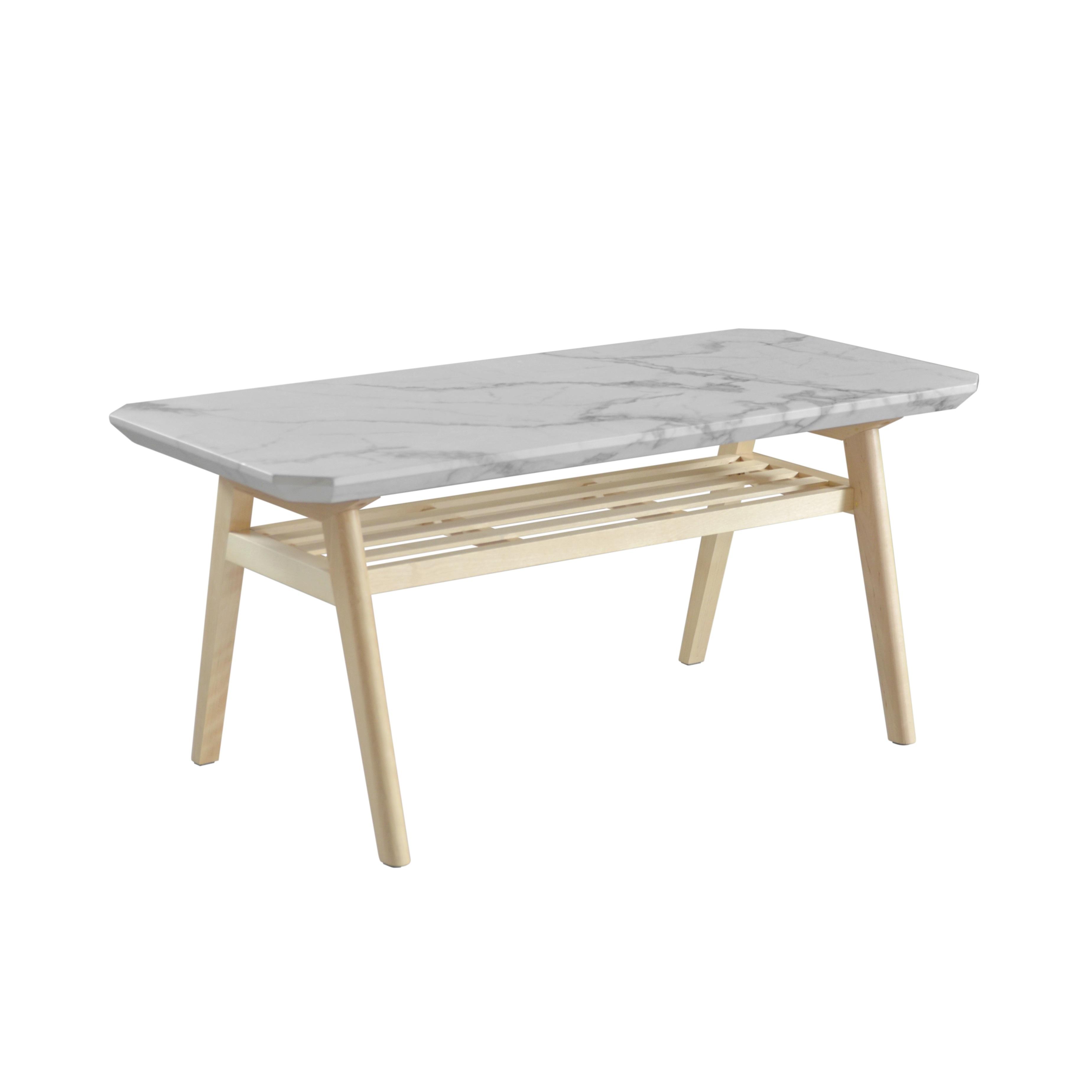 Marble Center Table 900 / 大理石モダンスタイル 大理石調 センターテーブル 900