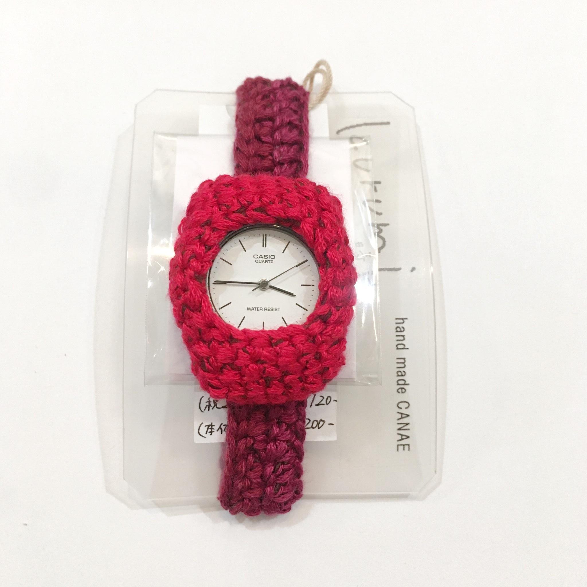 【handmadeCANAE】kurumi時計(小)Mサイズ