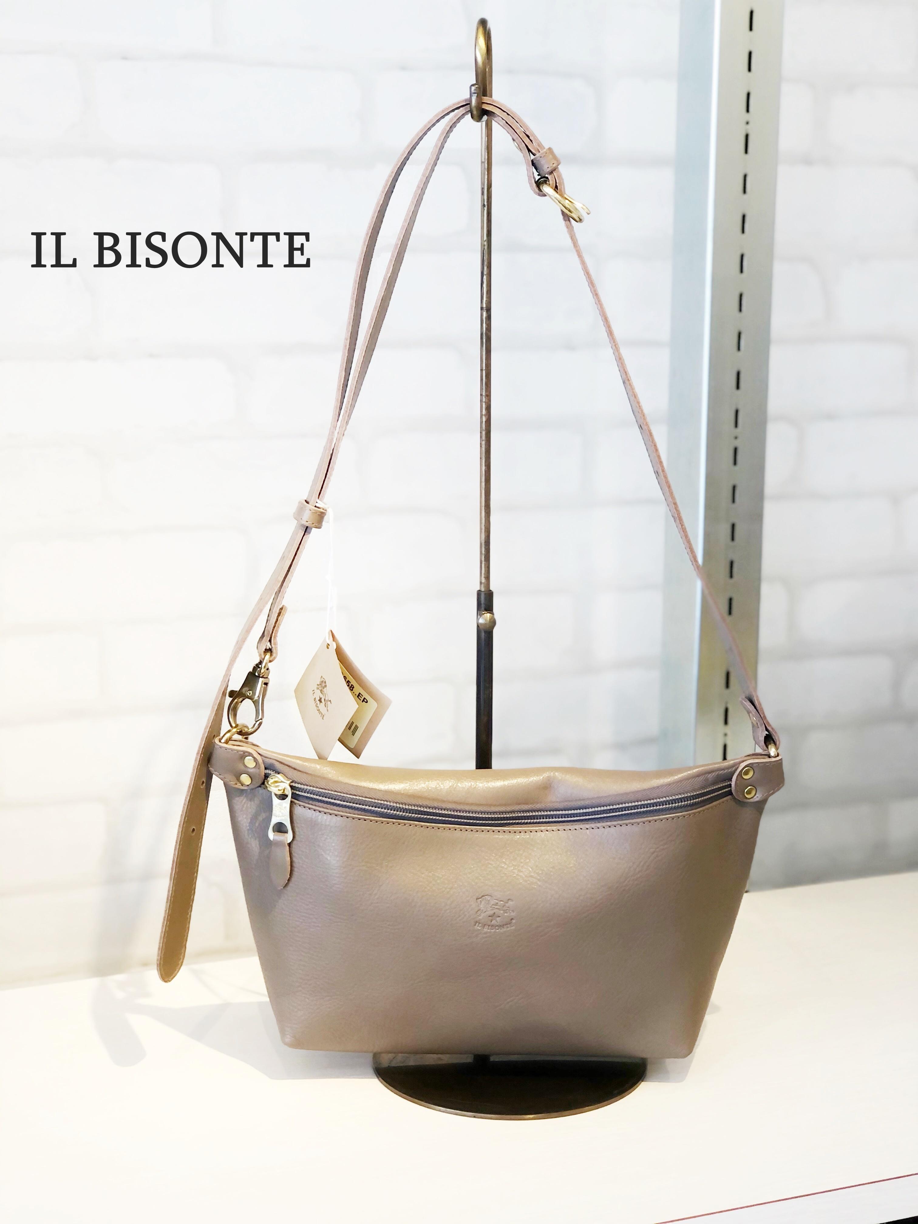 IL BISONTE(イルビゾンテ)/ショルダーバッグ/00116(グレー)