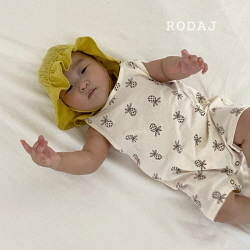 NO. 1337 .pineapple rompers