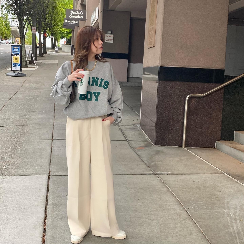DAYNYC thing slacks(white)