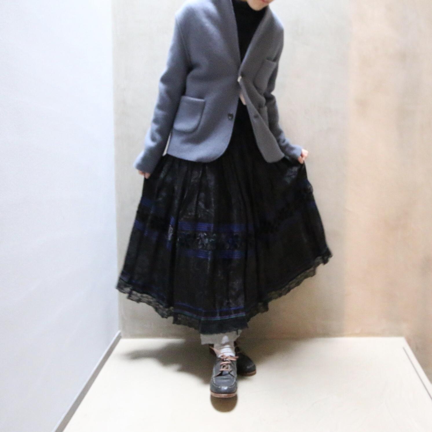 R&D.M.Co-/OLDMAN'S TAILOR Wool Felt Knit Jacket /ウールフェルトジャケット #4529