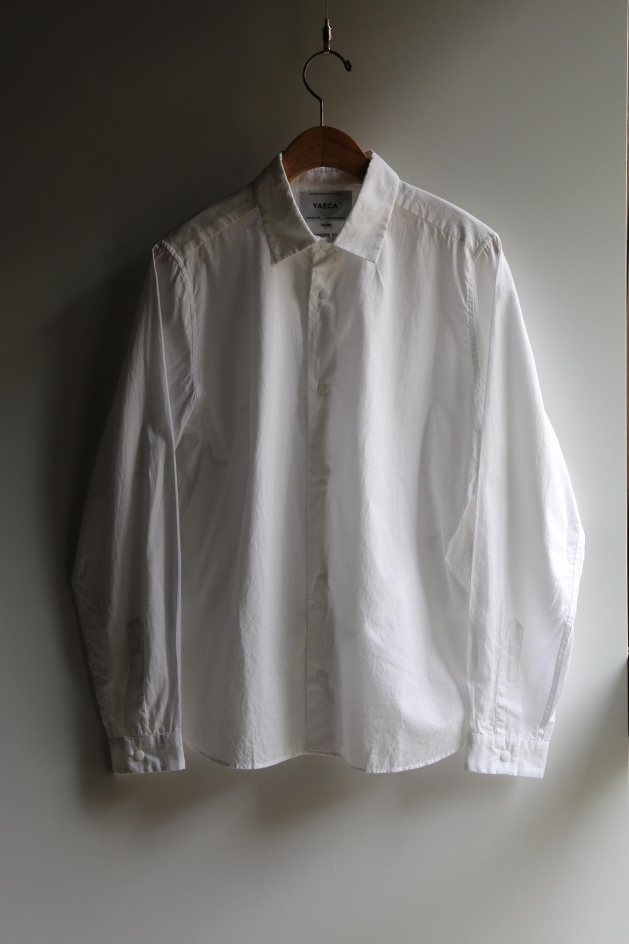 YAECAヤエカ コンフォートシャツ リラックス WHITE #67151