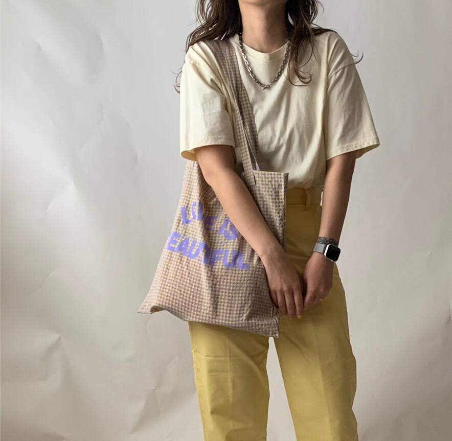 【asyu】love tote bag