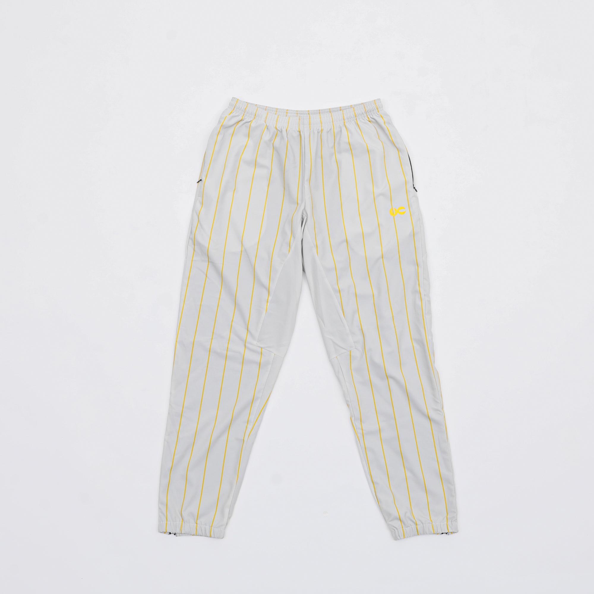 VC SOFT STRETCH STRIPE PANTS BEG/YEL