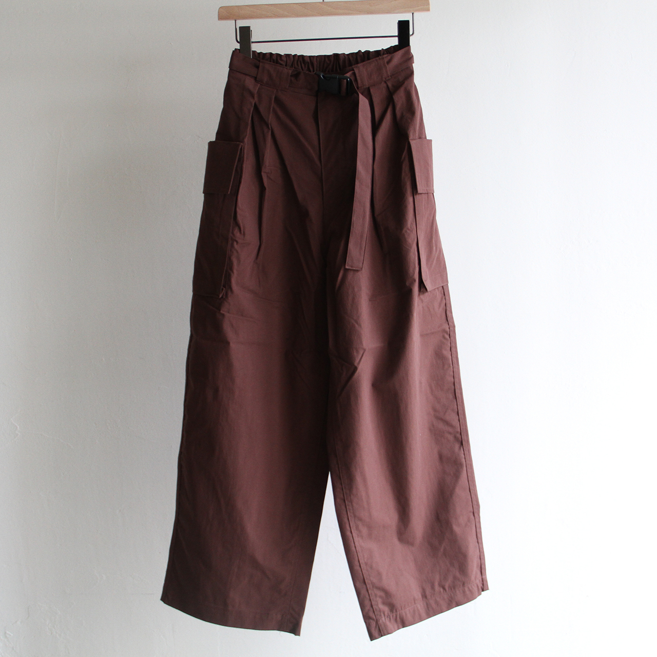 PHEENY【 womens 】 tussah military pants