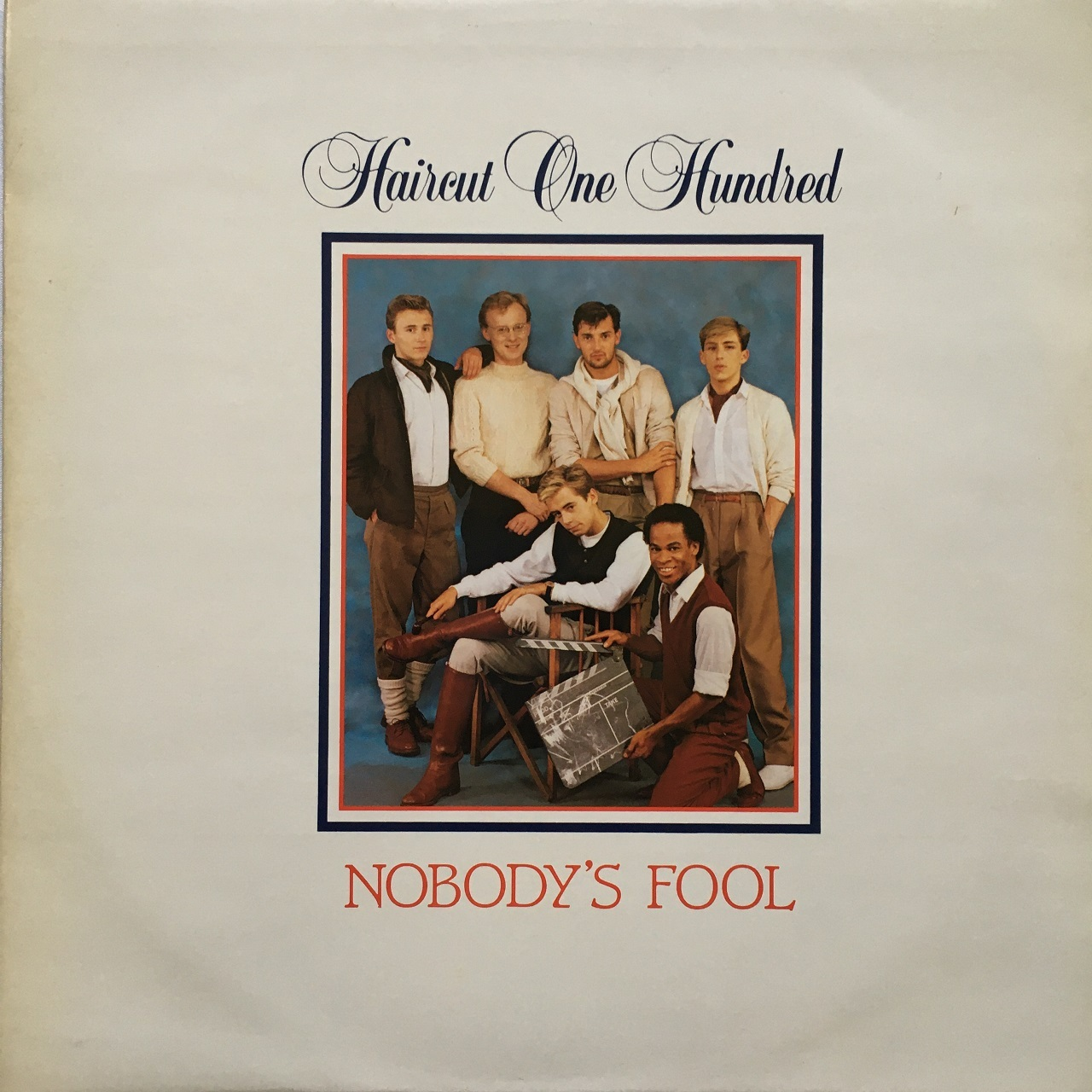 【12inch・英盤】Haircut One Hundred ‎/ Nobody's Fool