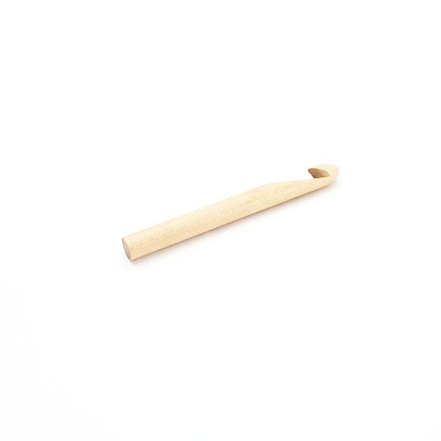 【竹製】極太片かぎ針 (長さ15cm 太さ15mm)