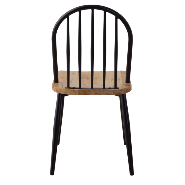 Iron Wood Dining Chair 2Set / 北欧スタイル  ダイニングチェア