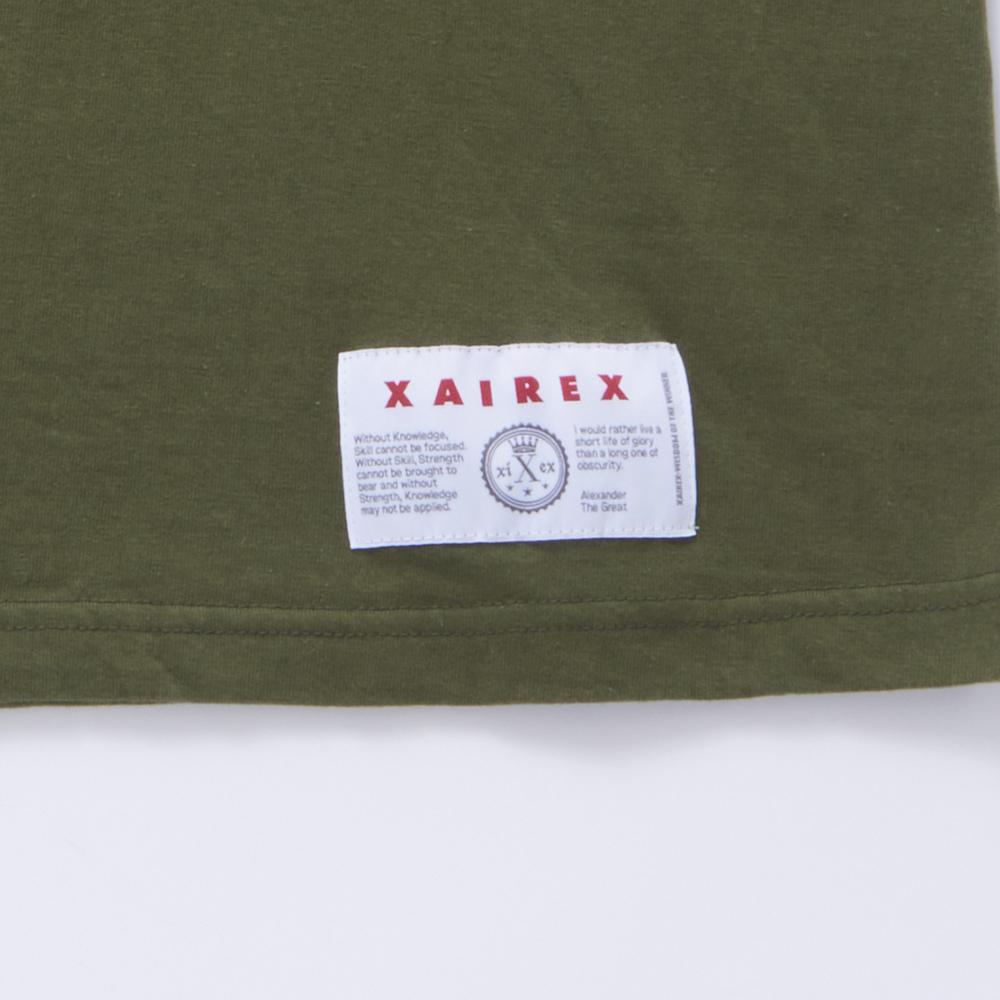 XAIREX LOGO TEE(WHITE)