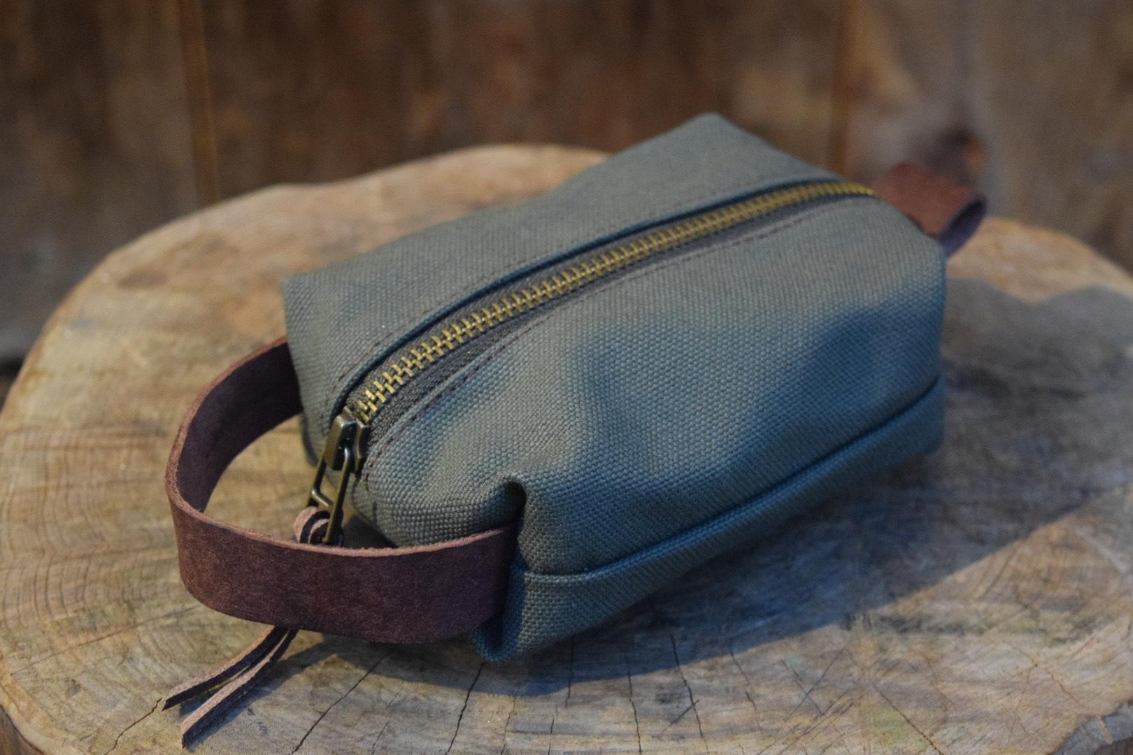 新品 Original Heavyduty pouch GREEN -Small G06
