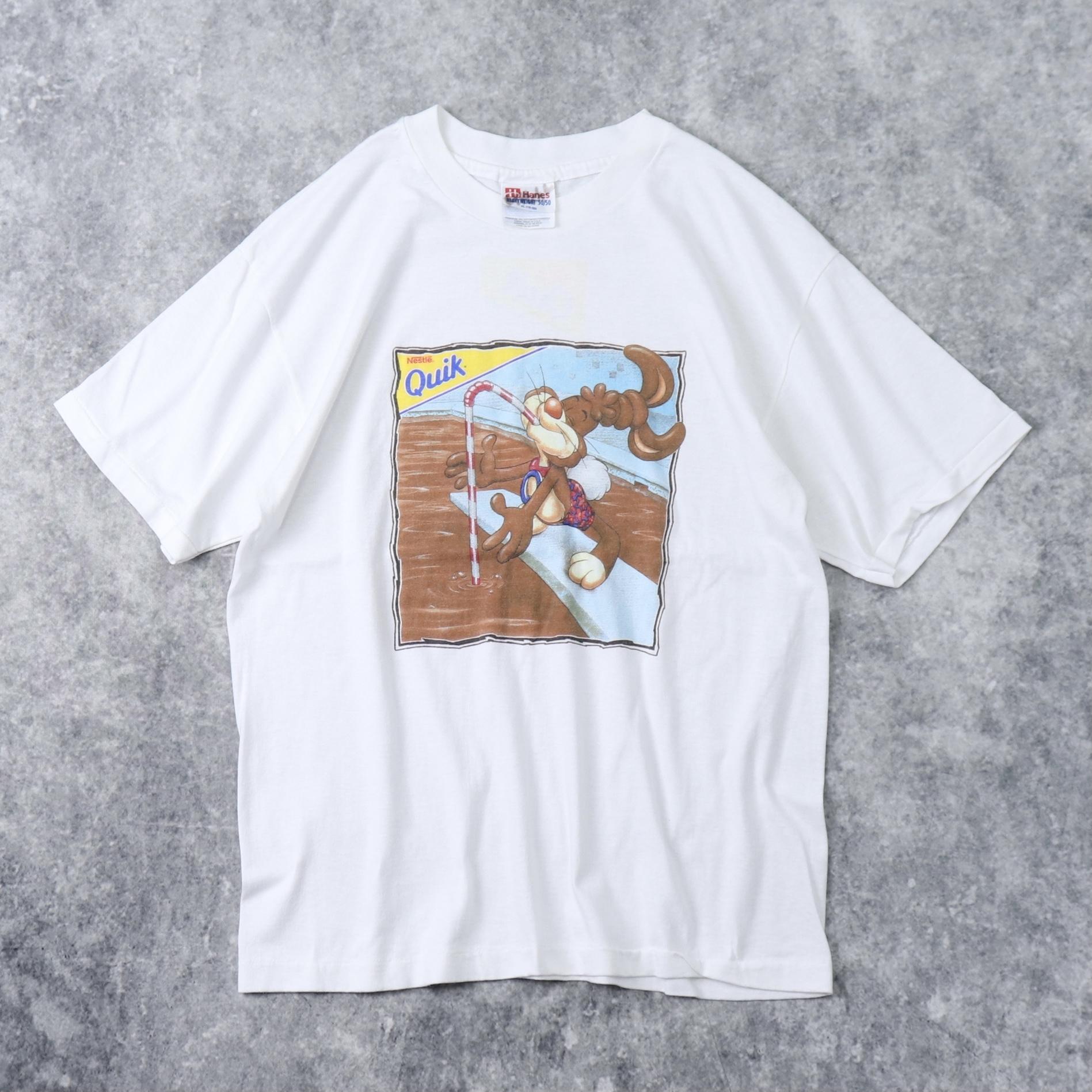 90年代 USA製 Tシャツ Nestle販促T A204