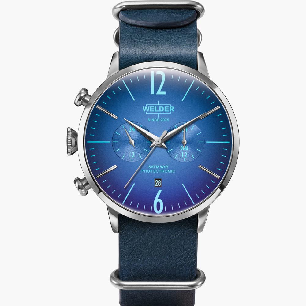 【WELDER ウェルダー】WWRC507/MOODY DUAL TIME 45mm ムーディー デュアルタイム/国内正規品 腕時計