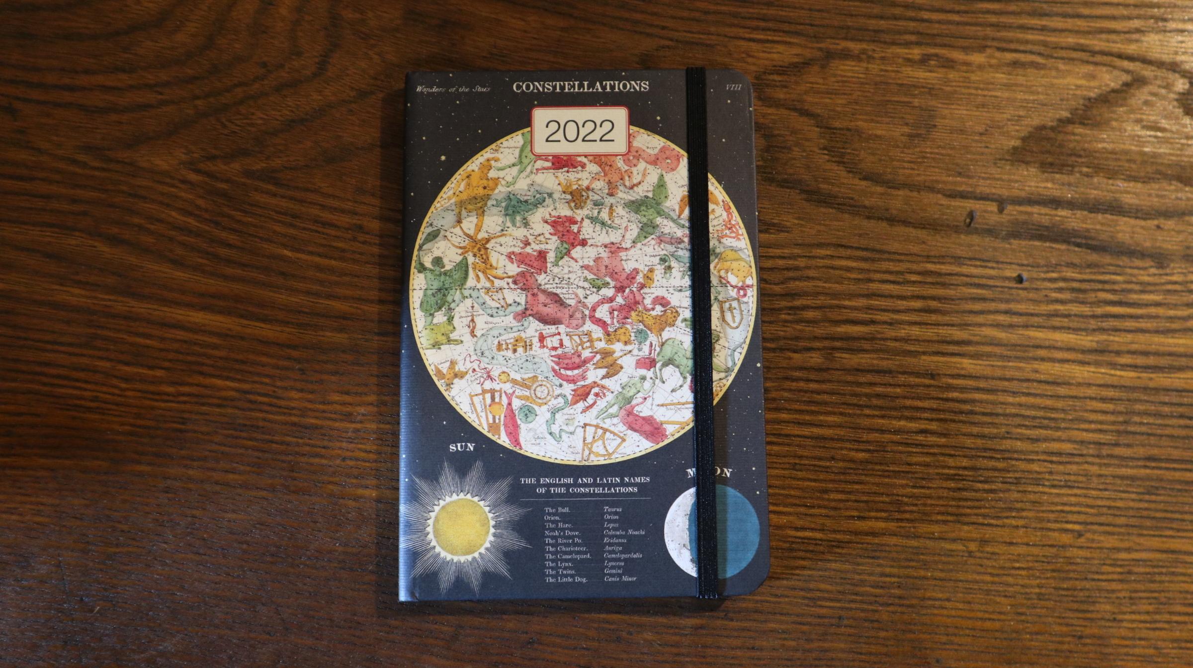 CAVALLINI 2022年ウィークリープランナー 星座
