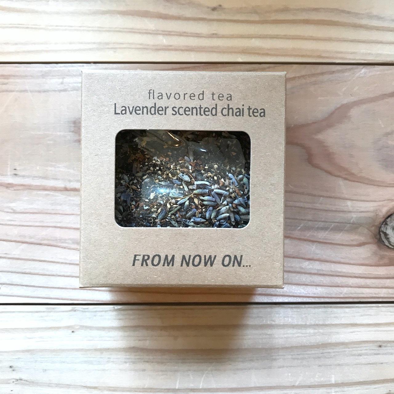 """ FNO Lavender scented chai tea / ラベンダーチャイティー カートンS 20g """