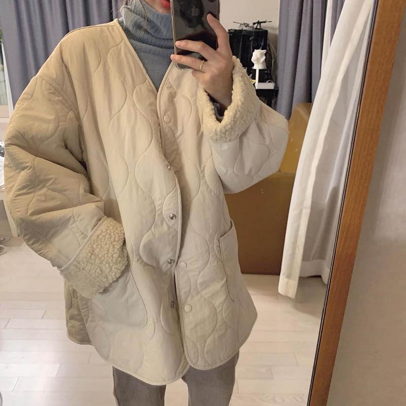 スノーキルティングジャケット