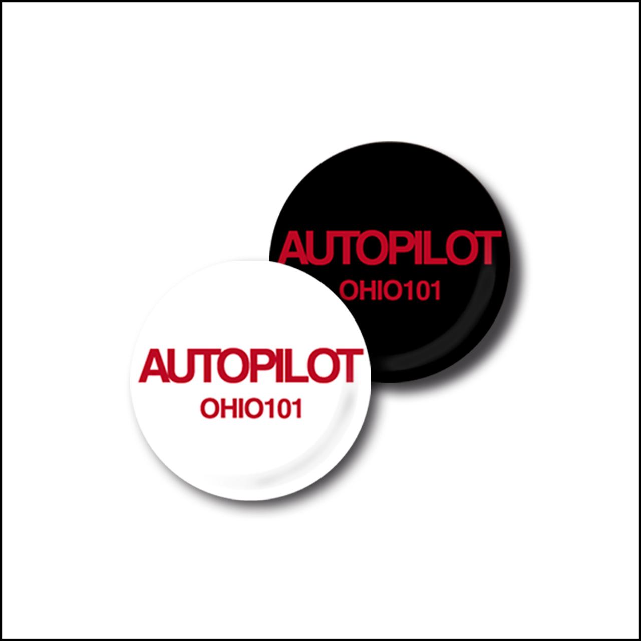 OHIO101 AUTOPILOT badge *not for sale