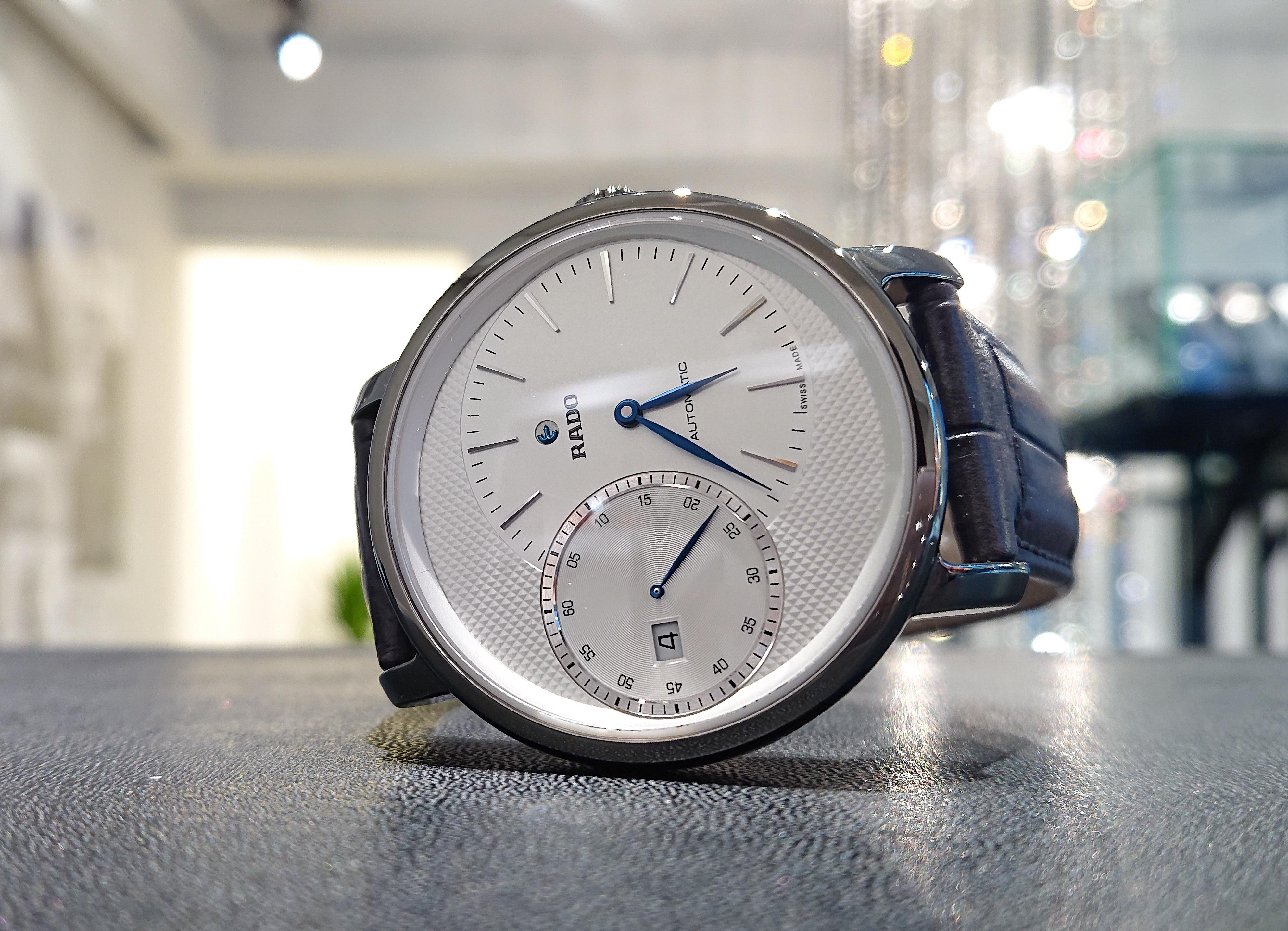 【RADO ラドー】DiaMaster Automatic Grande Seconde ダイヤマスター グランドセコンド(グレー)/国内正規品 腕時計