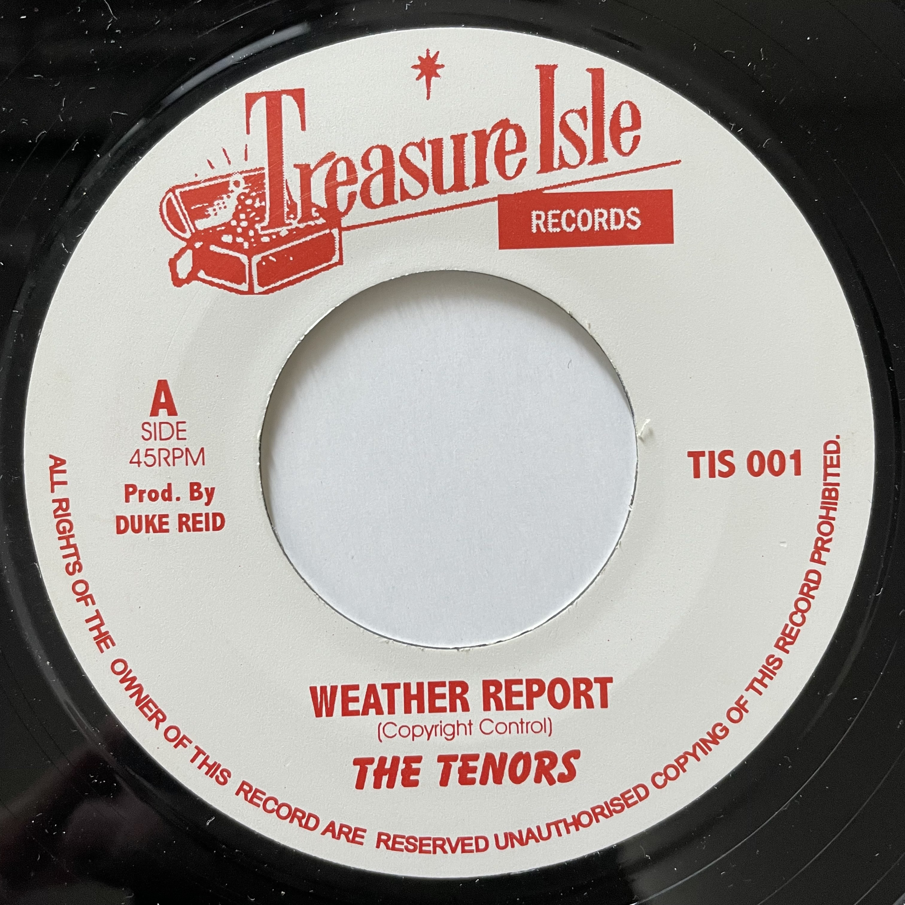 The Tenors - Weather Report 【7-20713】