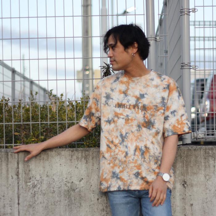 JOHNBULL/ジョンブル タイダイ染めプリントTシャツ 25779