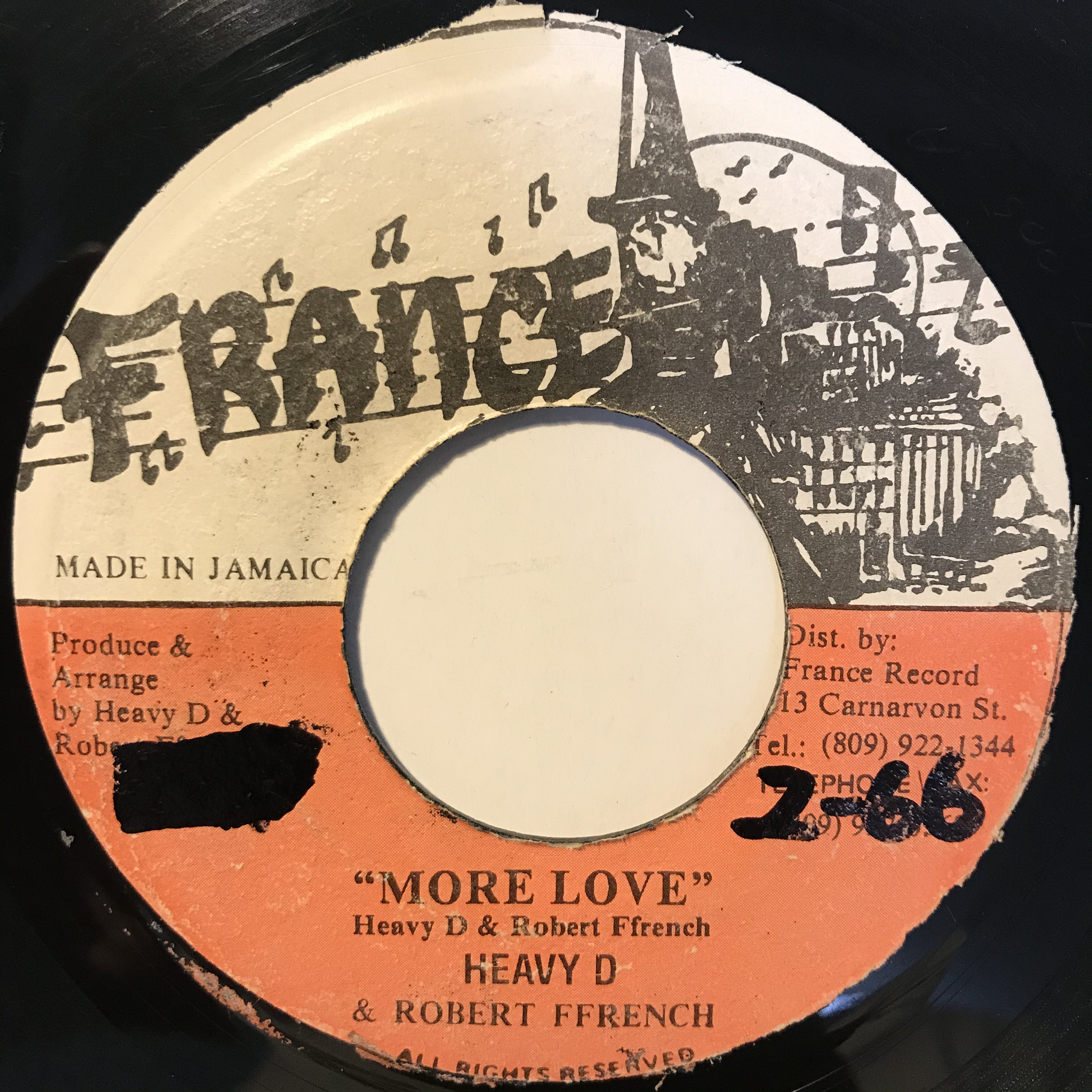 Heavy D & Robert French - More Love【7-1096】