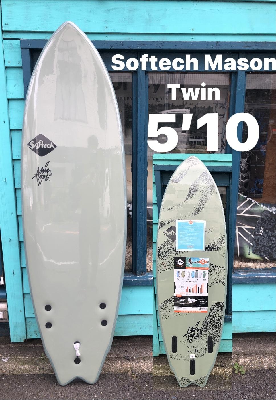 "Softech Mason Twin 5'10""-Desert Storm"