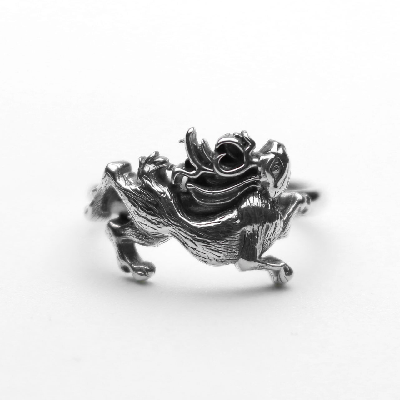 A Man Jackalope Tiny Ring エーエムエーエヌ ジャッカロープタイニーリング