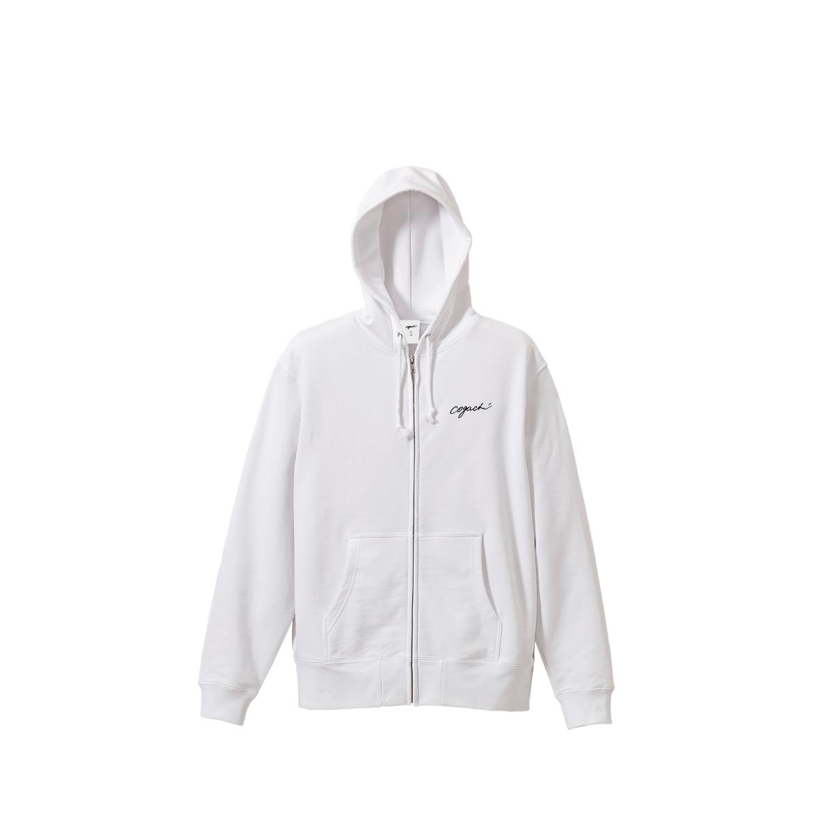 1991 zip hoodie(WHITE)