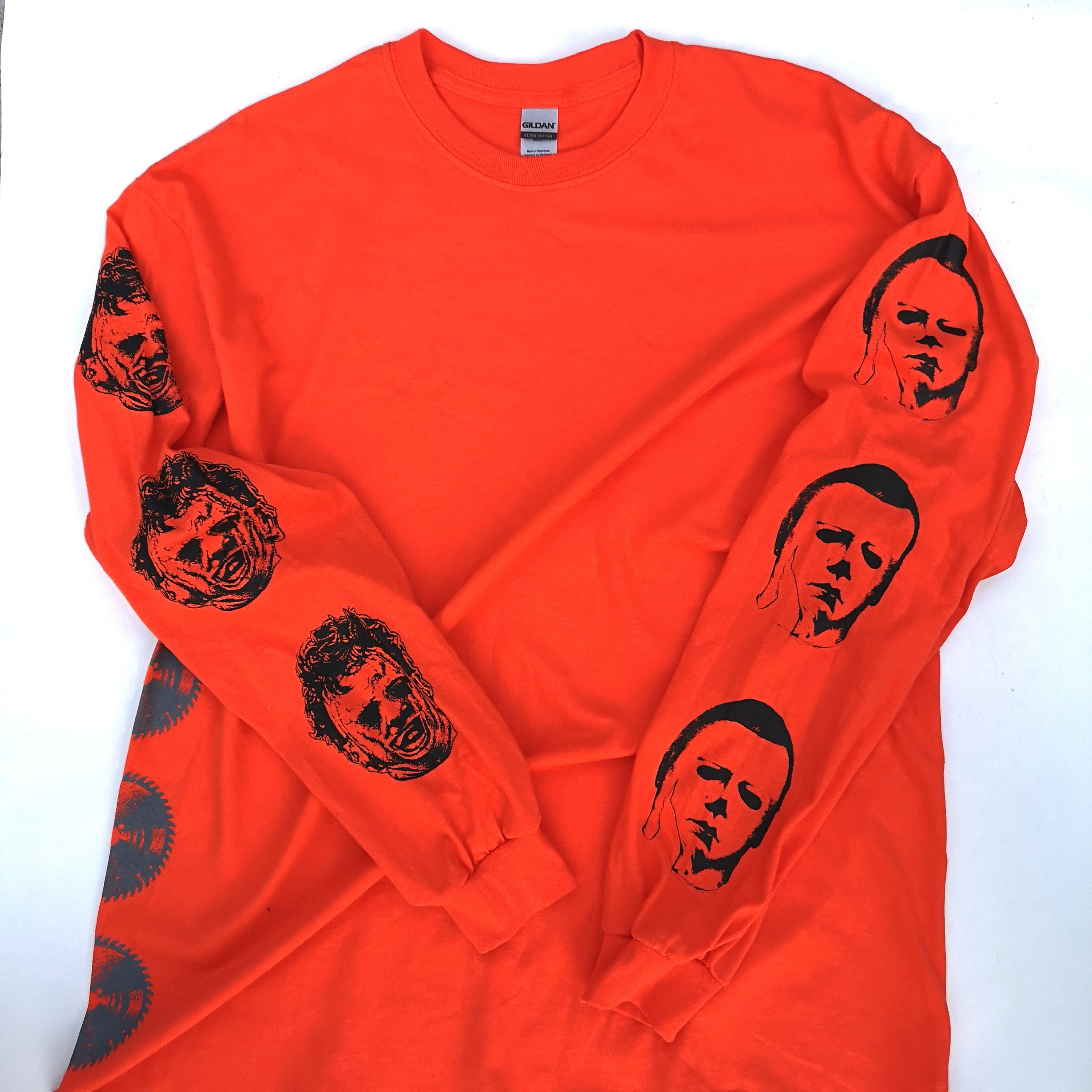       LEATHER AND BOOGEY LONG TEE ORANGE XL