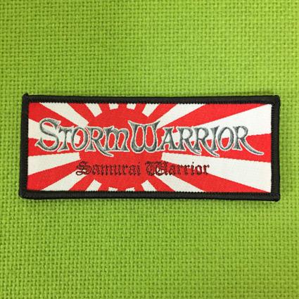 STORMWARRIOR ロゴ刺繍パッチ