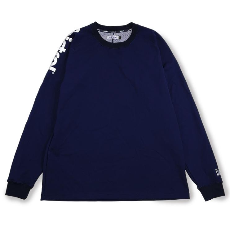 ミストラル ユニセックス [ HP-DRY(ハイドロフォビックドライ) ロングスリーブTシャツ アクティブフィット ] NAVY